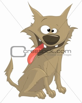 Cartoons_0095_Dog_Vector