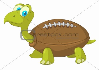 Cartoons_0100_Turtle_Vector