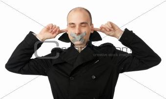 no talking speaking hearing