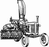 Farmer&#39;s tractor