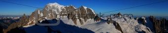 Mont Blanc panorama