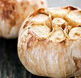 Roasted garlic bulbs