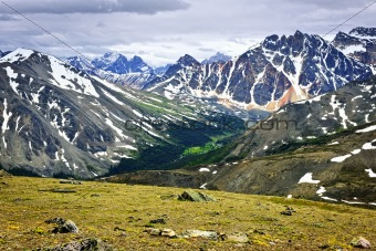 Rocky Mountains in Jasper National Park, Canada
