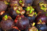 mangosteens at marketplace