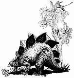 Dino Stegosaurus