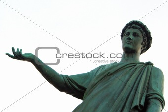 Ukraine, Odessa, statue of Richelieu duke