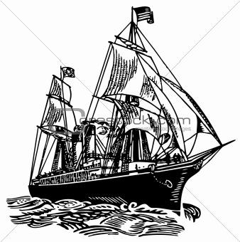 Atlantic sailboat