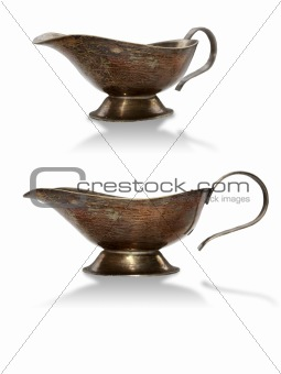An isolated coffee-pot