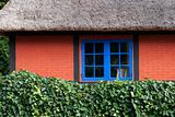 Part of thatched cottage