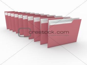 3d folder paper