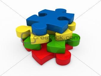 3d puzzle successive