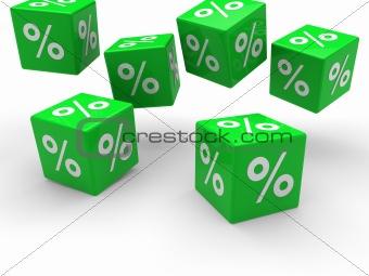 3d sale cube fall