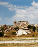 sandstone and limestone formation Goreme