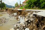 Landslip road