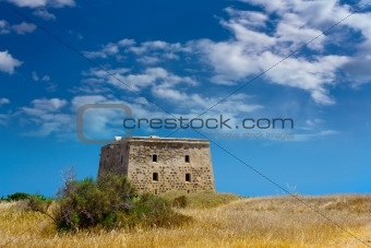 Old fort on Tabarca island