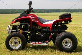 Red quad