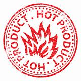 Hot Product rubber stamp