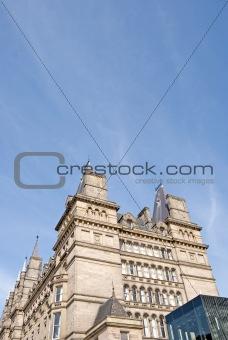 Towering Victorian Building