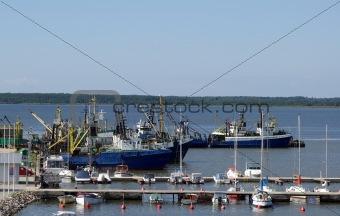 Fish port Haapsalu