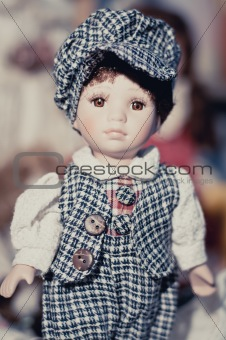 Boy, little dolly