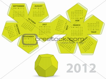 Dodecahedron calendar