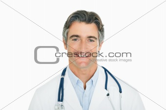 Portrait of a successful male doctor
