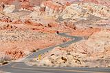 Winding Road Nevada