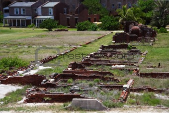 Fort Jefferson Barracks Ruins