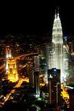 petronas towers in kuala lumpur malaysia