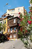 traditional house in istanbul old town turkey