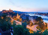 Budapest night view
