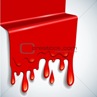 abstract vector blood background