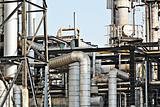Industrial building, Steel pipelines