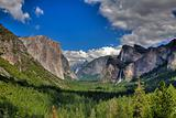 In Yosemite National Park, California