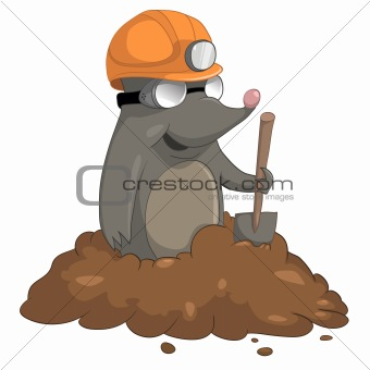 Cartoons_0048_Mole_Vector