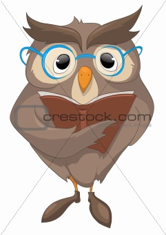 Cartoons_0056_Owl_Vector