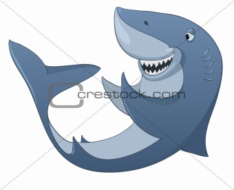 Cartoons_0077_Shark_Vector