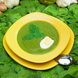 cream spinach soup