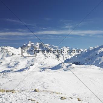 Alps Mountains, Savoie, France