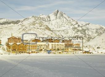 Tignes-le-Lac, Alps Mountains, Savoie, France