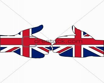 British handshake