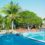 hotel&#39;s swimming pool, Santa Lucia, Camaguey Province, Cuba