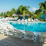 hotel's swimming pool, Cayo Coco, Cuba