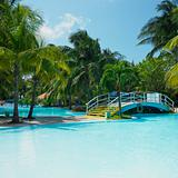 hotel&#39;s swimming pool, Varadero, Cuba