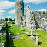 ruins of Drumlane Monastery, County Cavan, Ireland