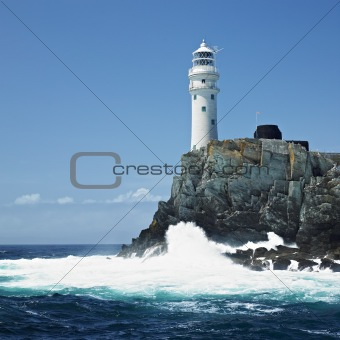 lighthouse, Fastnet Rock, County Cork, Ireland
