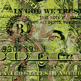 Grunge Dollar Bill