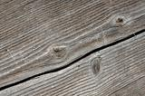 Cracked Wood Plank