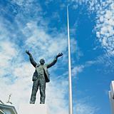 Jim Larkin statue, O´Connell Street, Dublin, Ireland