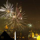 New Year's Eve in Prague, Czech Republic